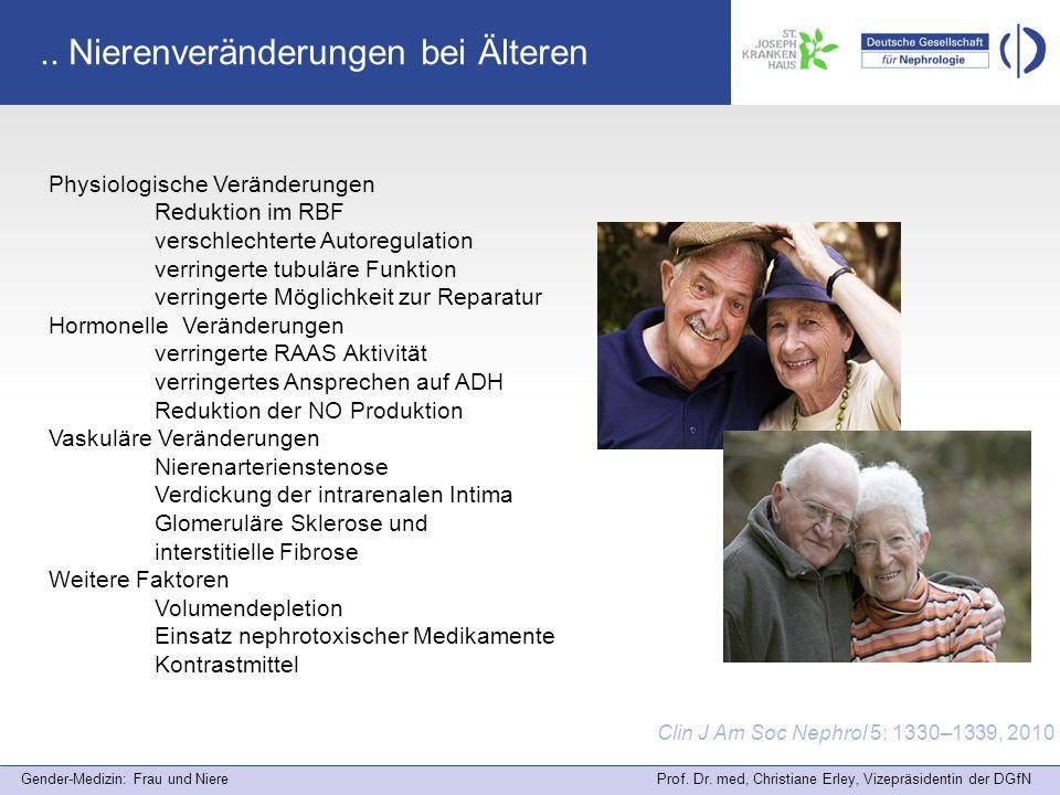 .. Nierenveränderungen bei Älteren