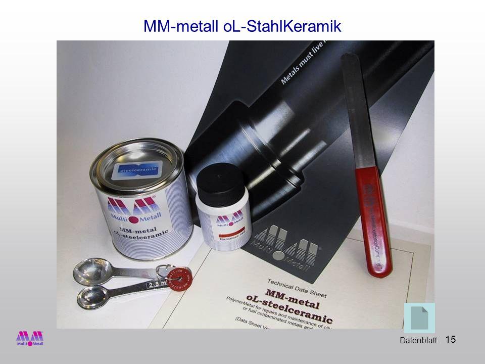 MM-metall oL-StahlKeramik