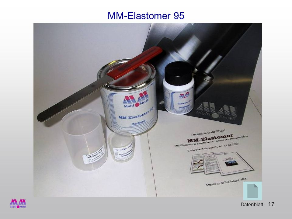 MM-Elastomer 95 Datenblatt