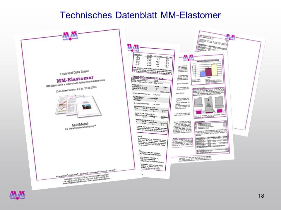 Technisches Datenblatt MM-Elastomer