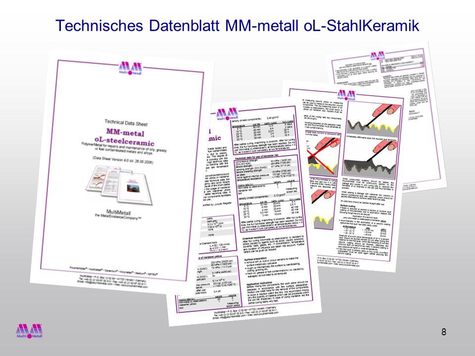 Technisches Datenblatt MM-metall oL-StahlKeramik