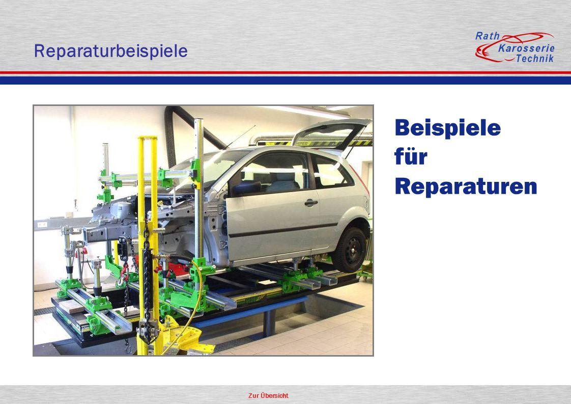Reparaturbeispiele Beispiele für Reparaturen