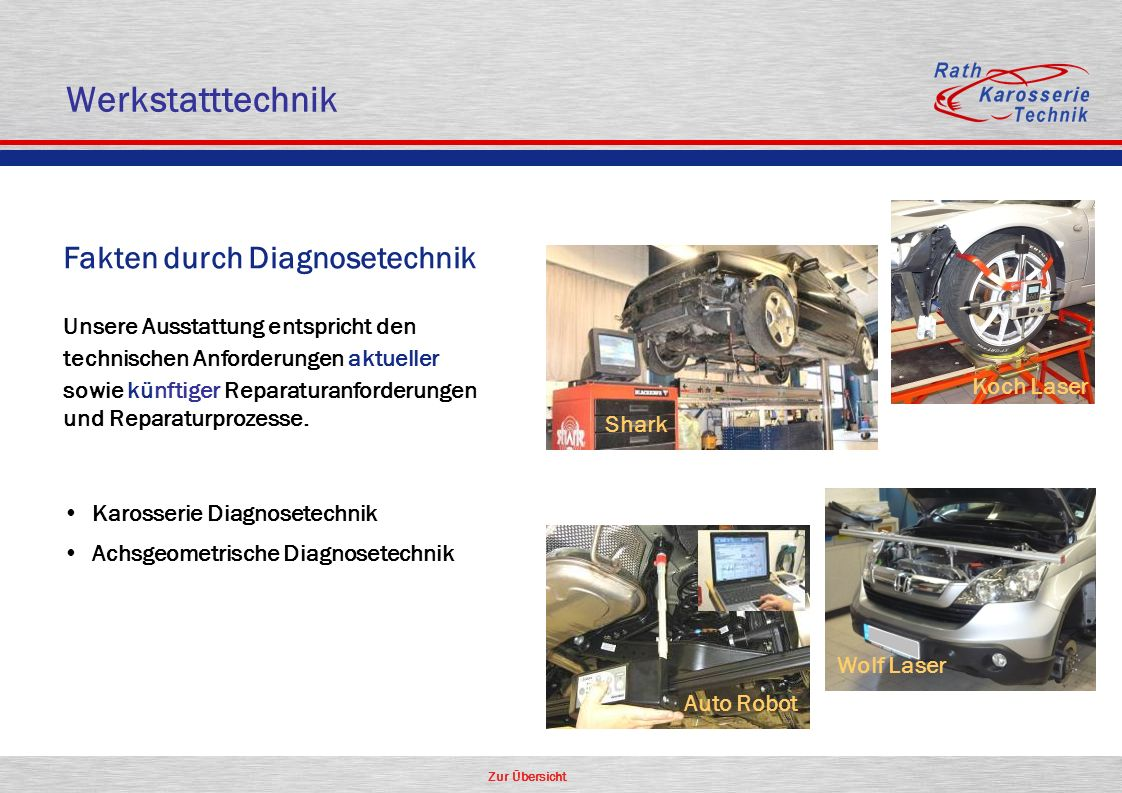 Werkstatttechnik Fakten durch Diagnosetechnik