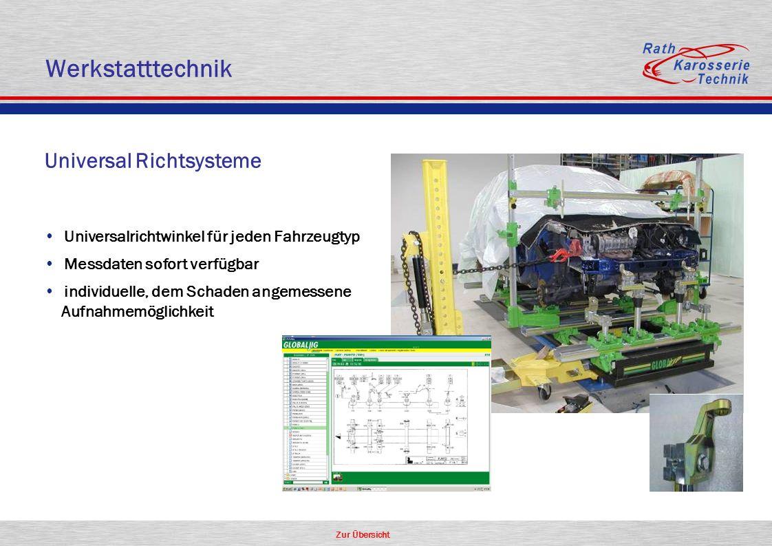 Werkstatttechnik Universal Richtsysteme