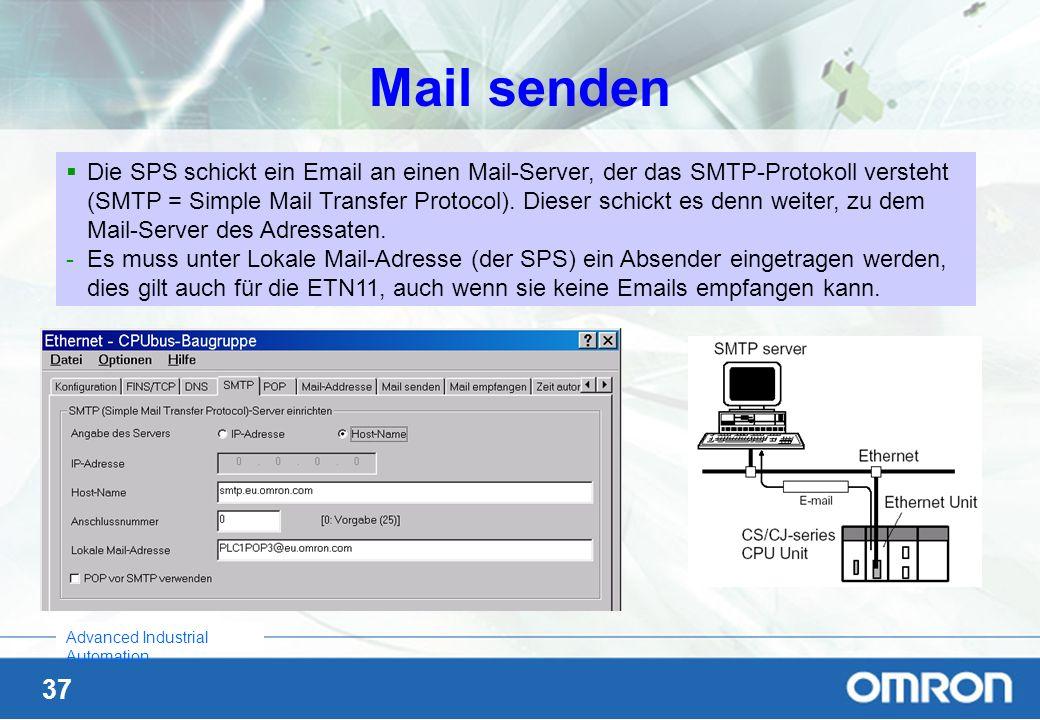 Mail senden