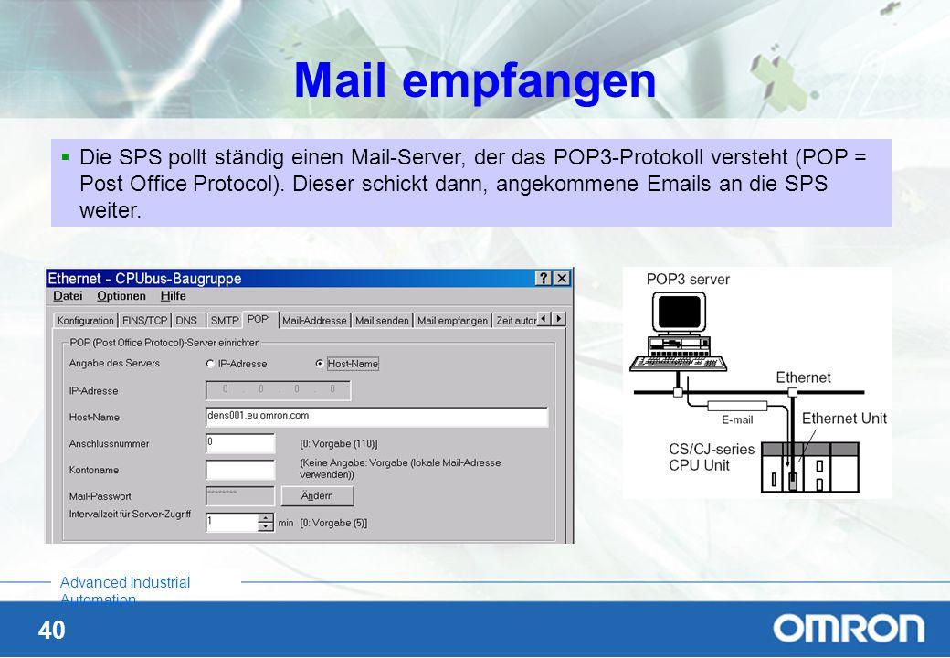 Mail empfangen