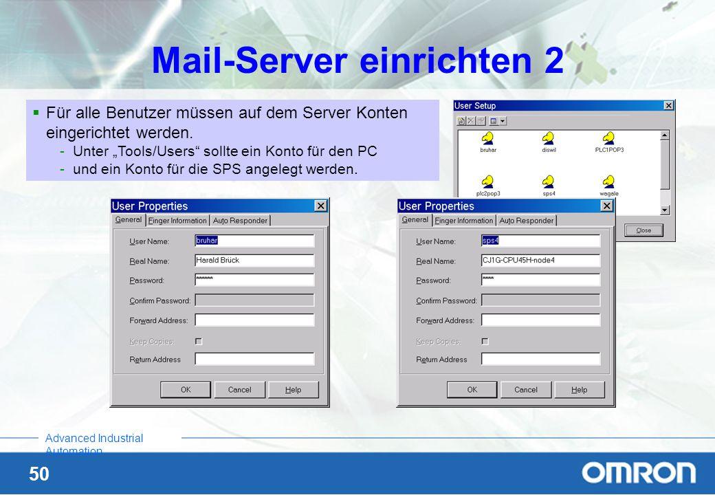 Mail-Server einrichten 2