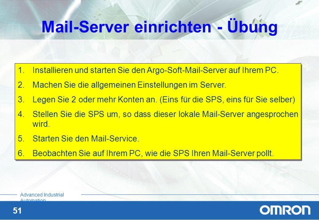 Mail-Server einrichten - Übung