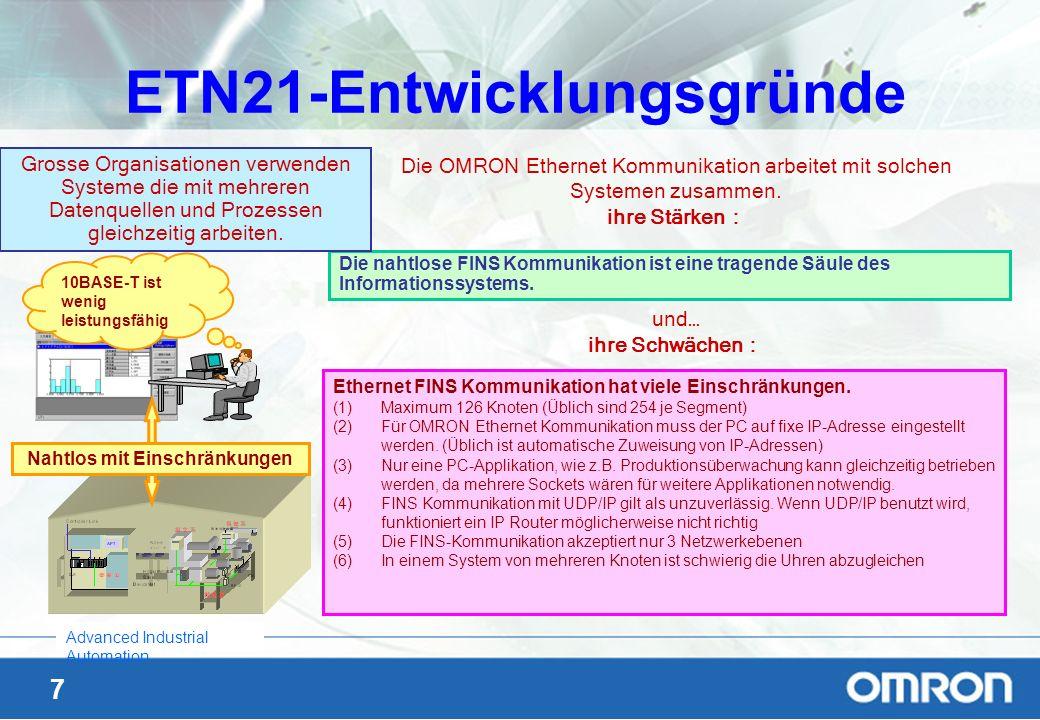 ETN21-Entwicklungsgründe