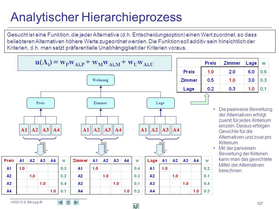 Analytischer Hierarchieprozess