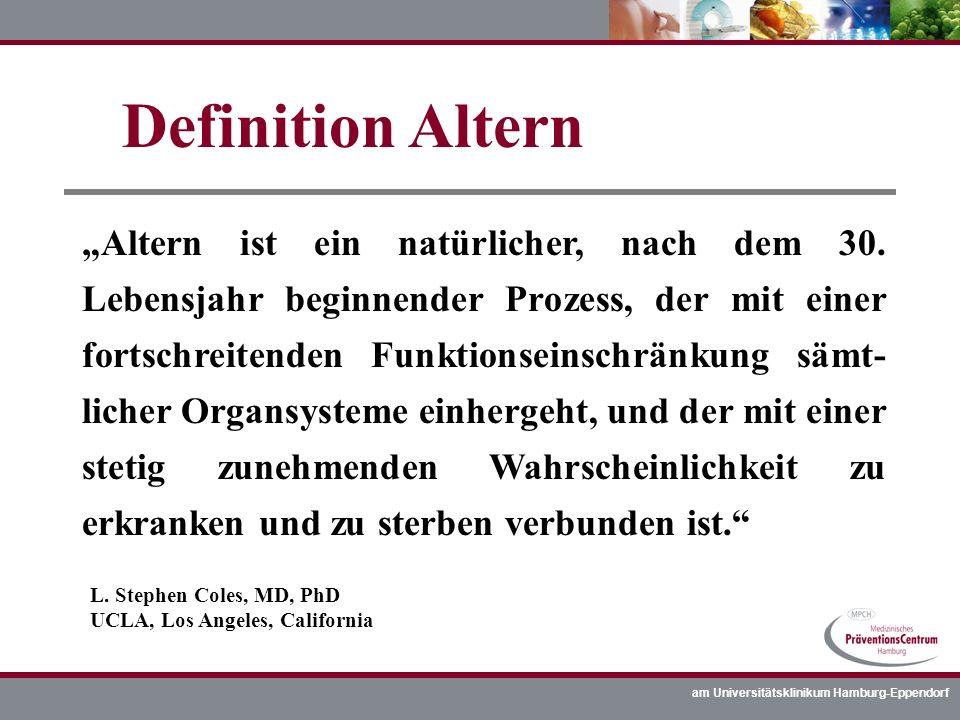 Definition Altern