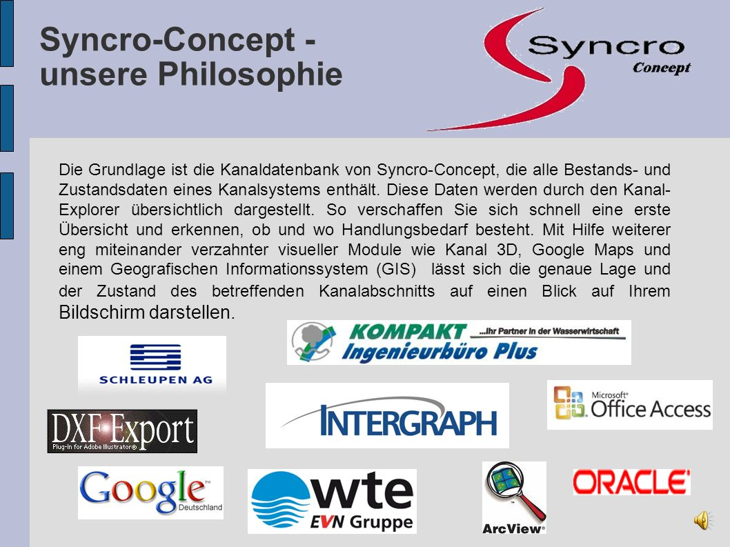 Syncro-Concept - unsere Philosophie