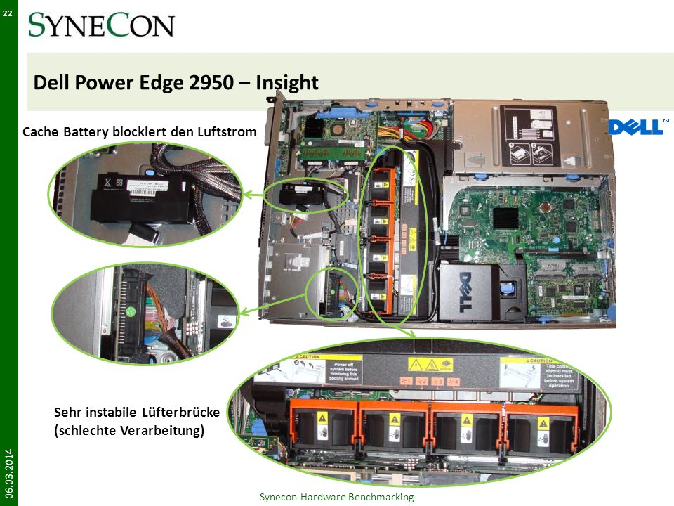 Dell Power Edge 2950 – Insight