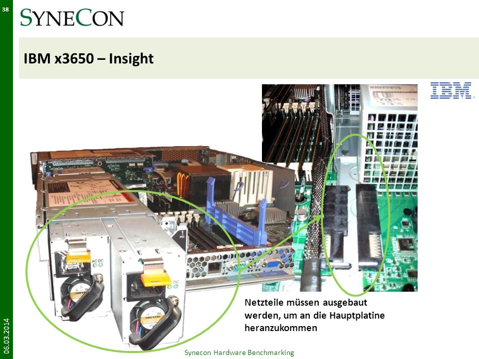 Synecon Hardware Benchmarking