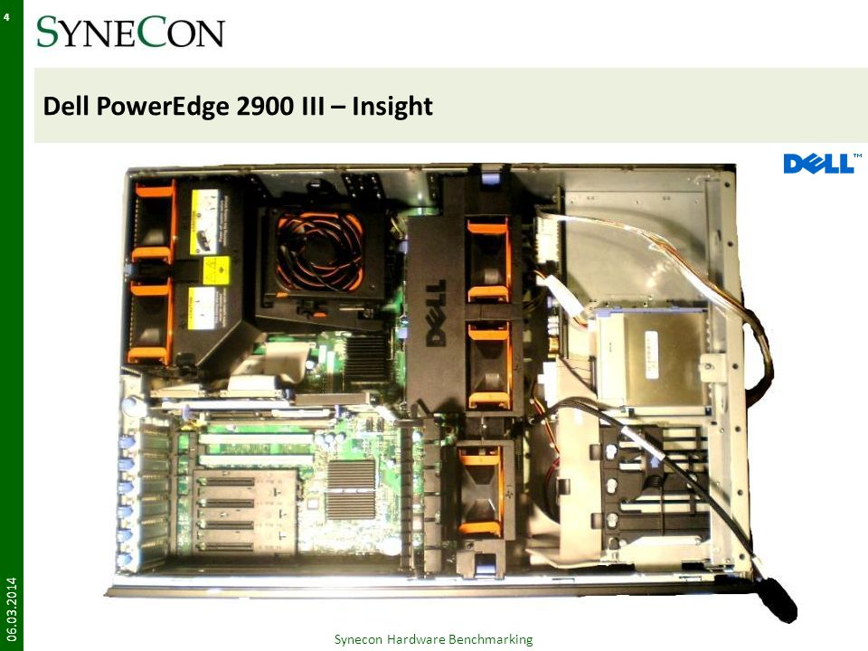 Dell PowerEdge 2900 III – Insight