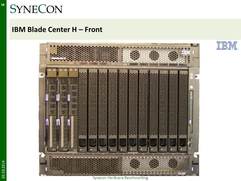 IBM Blade Center H – Front