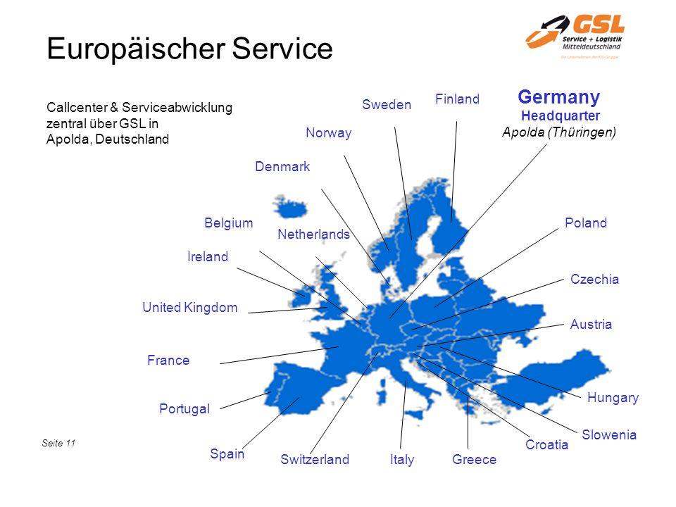 Europäischer Service Germany Headquarter Apolda (Thüringen) Finland