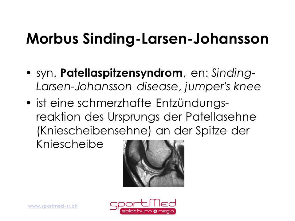 Morbus Sinding-Larsen-Johansson