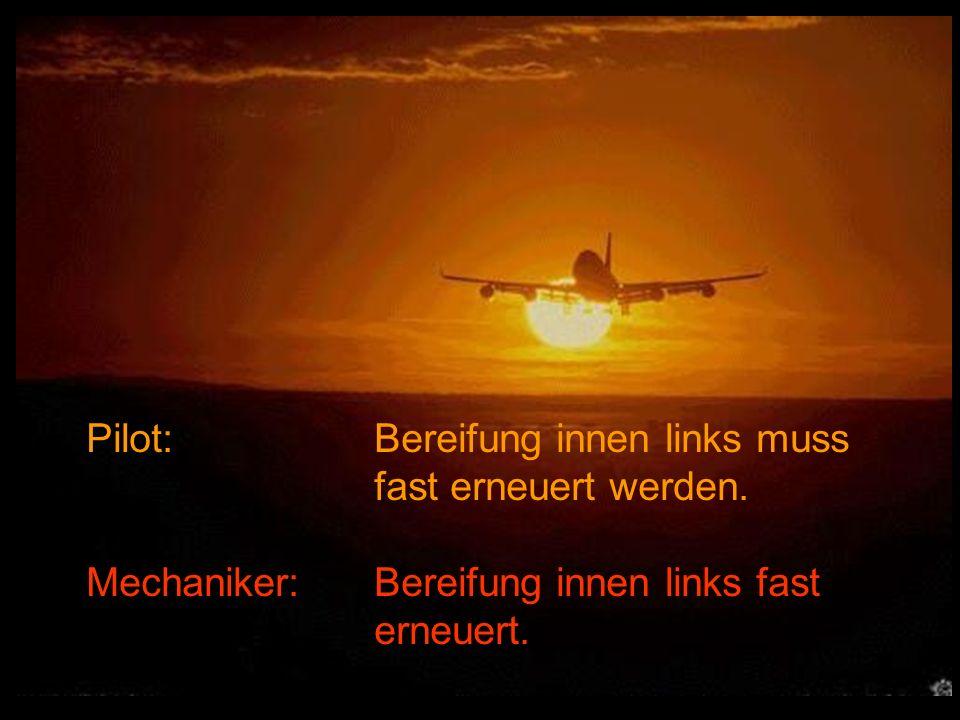 Pilot: Bereifung innen links muss