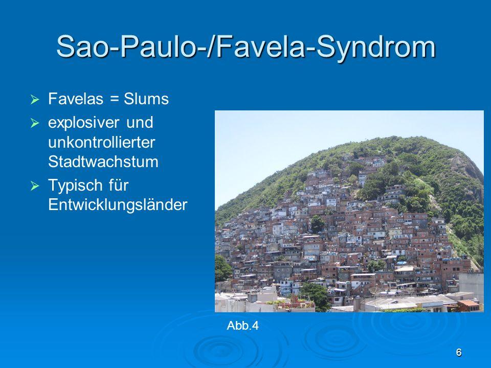 Sao-Paulo-/Favela-Syndrom