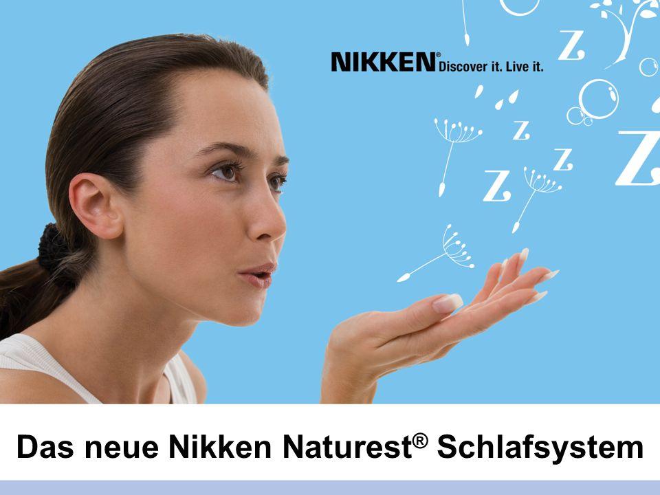 Das neue Nikken Naturest® Schlafsystem