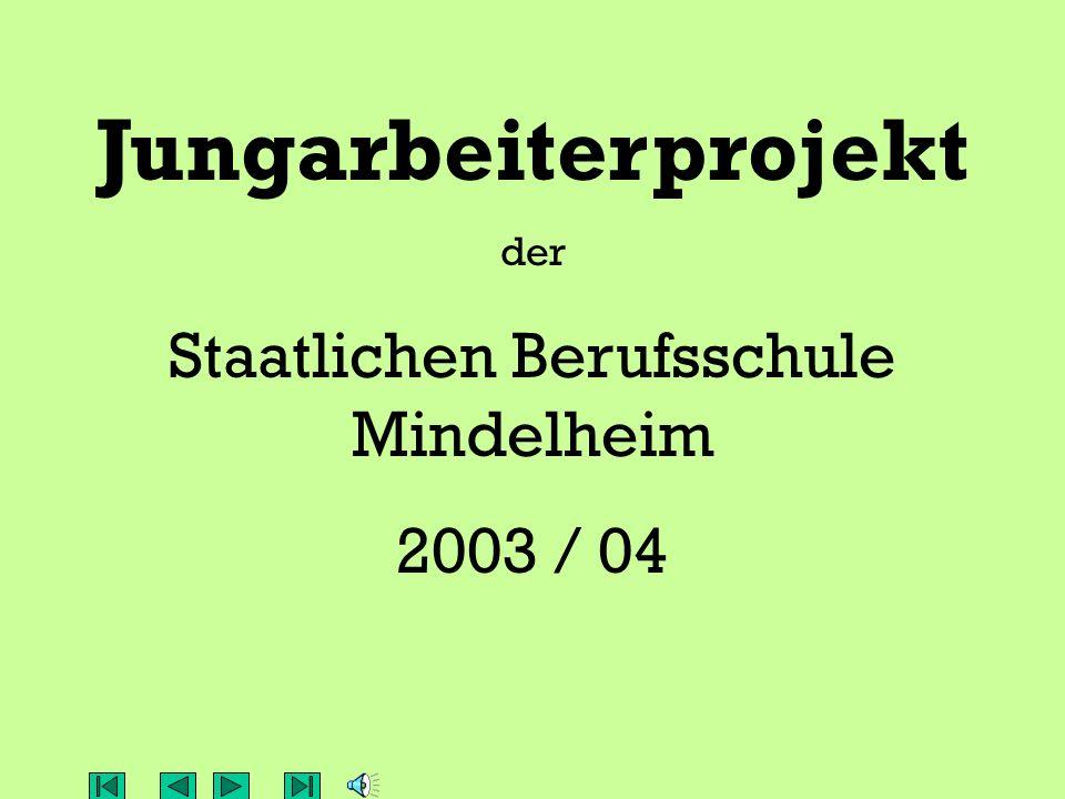 Staatlichen Berufsschule Mindelheim