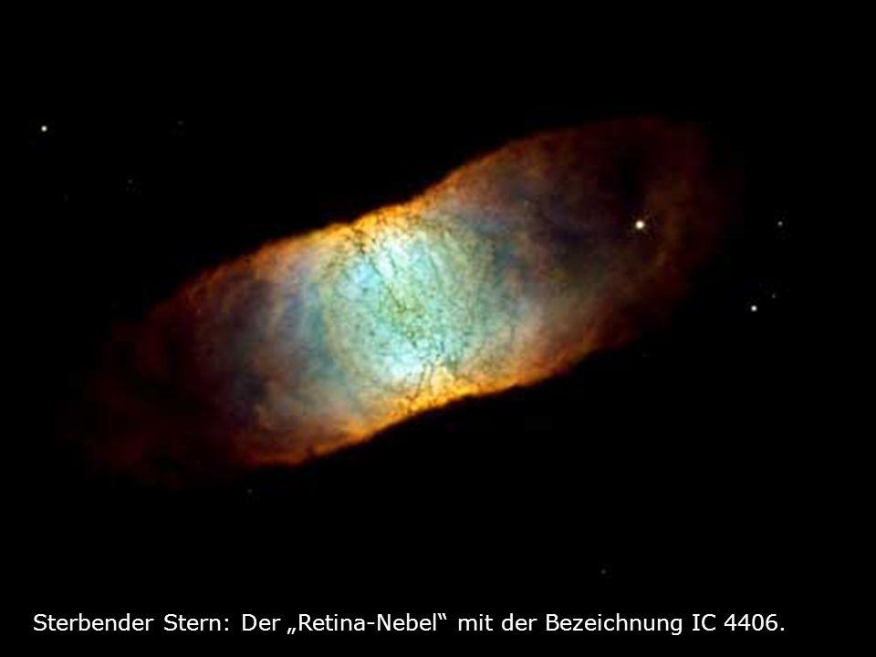 """Sterbender Stern: Der """"Retina-Nebel mit der Bezeichnung IC 4406."""