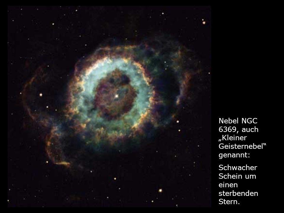 """Nebel NGC 6369, auch """"Kleiner Geisternebel genannt:"""