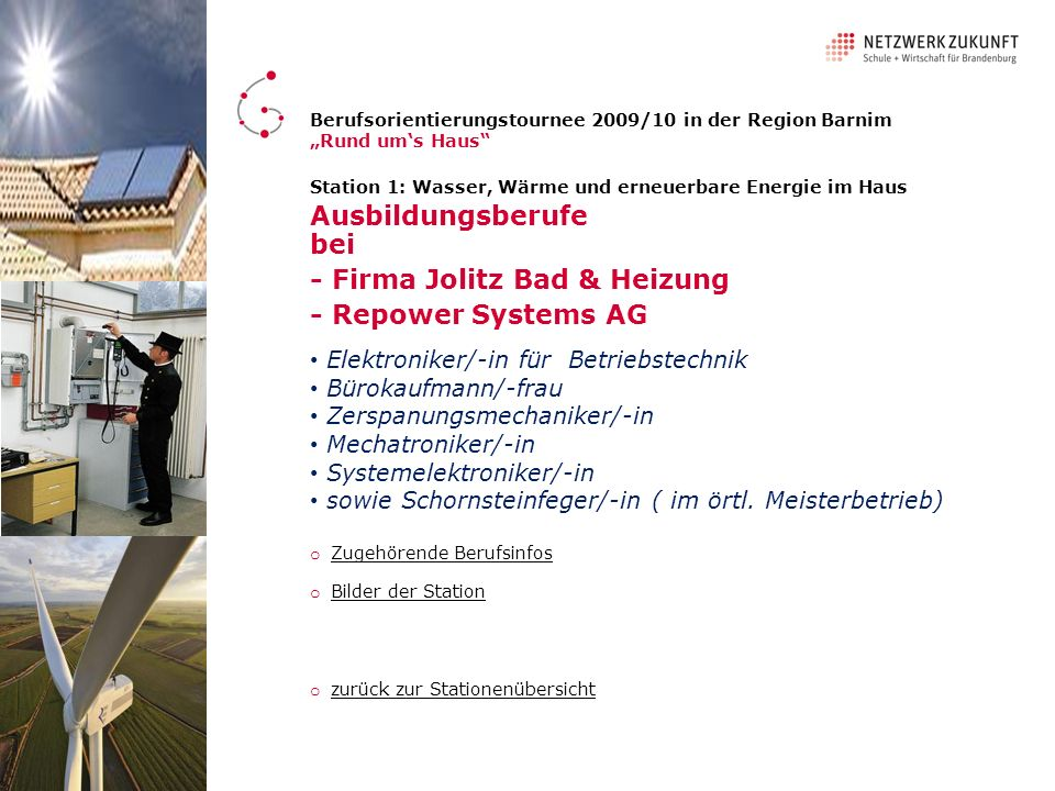 - Firma Jolitz Bad & Heizung - Repower Systems AG