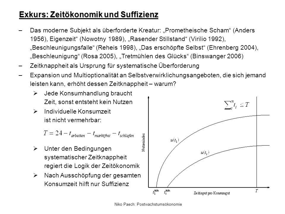 Exkurs: Zeitökonomik und Suffizienz