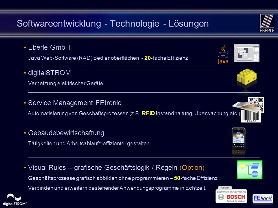 Softwareentwicklung - Technologie - Lösungen