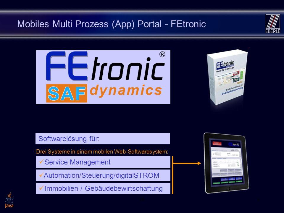 Mobiles Multi Prozess (App) Portal - FEtronic