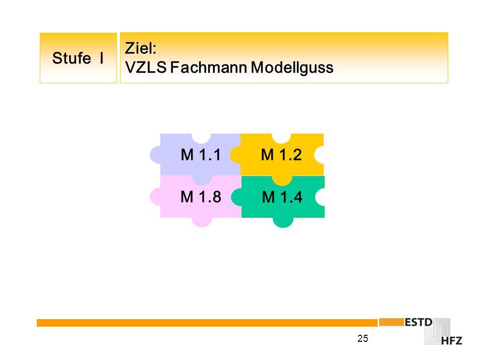 Ziel: VZLS Fachmann Modellguss