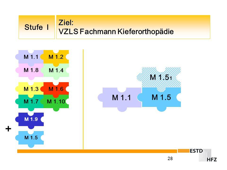 Ziel: VZLS Fachmann Kieferorthopädie