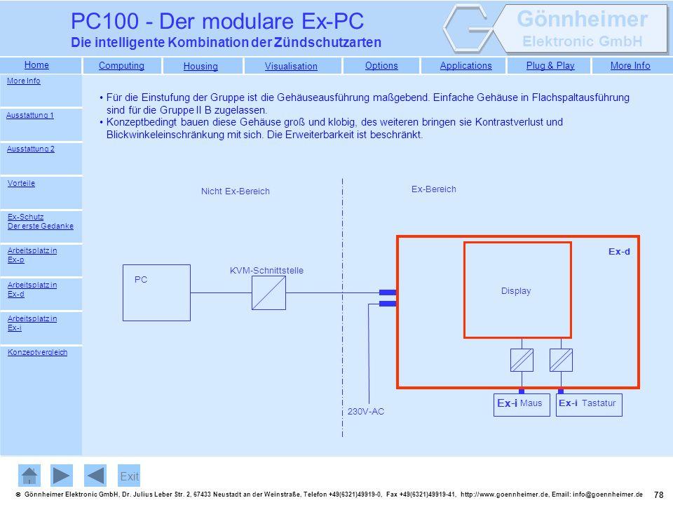 PC100 - Der modulare Ex-PC Die intelligente Kombination der Zündschutzarten. More Info.