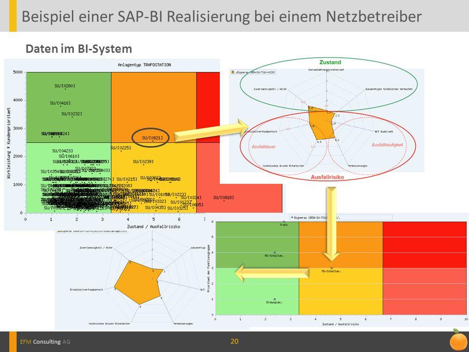 Beispiel einer SAP-BI Realisierung bei einem Netzbetreiber
