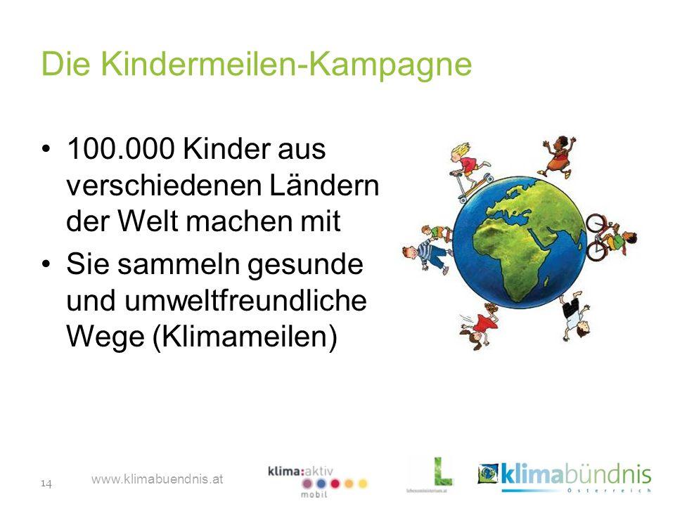 Die Kindermeilen-Kampagne