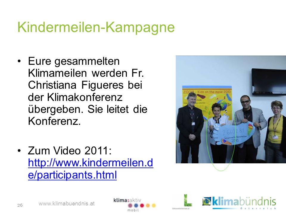 Kindermeilen-Kampagne