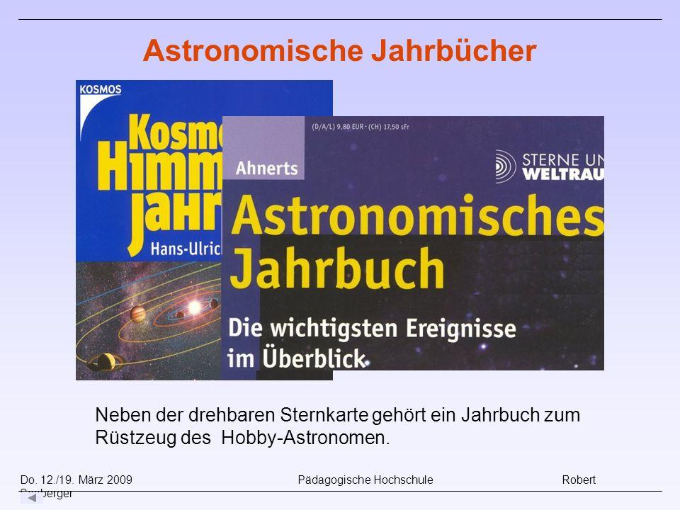 Astronomische Jahrbücher