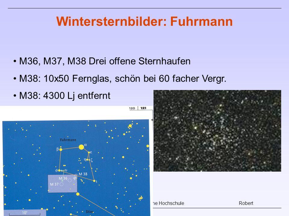 Wintersternbilder: Fuhrmann