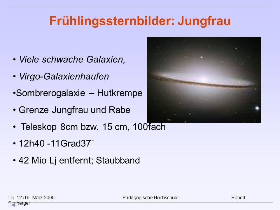 Frühlingssternbilder: Jungfrau
