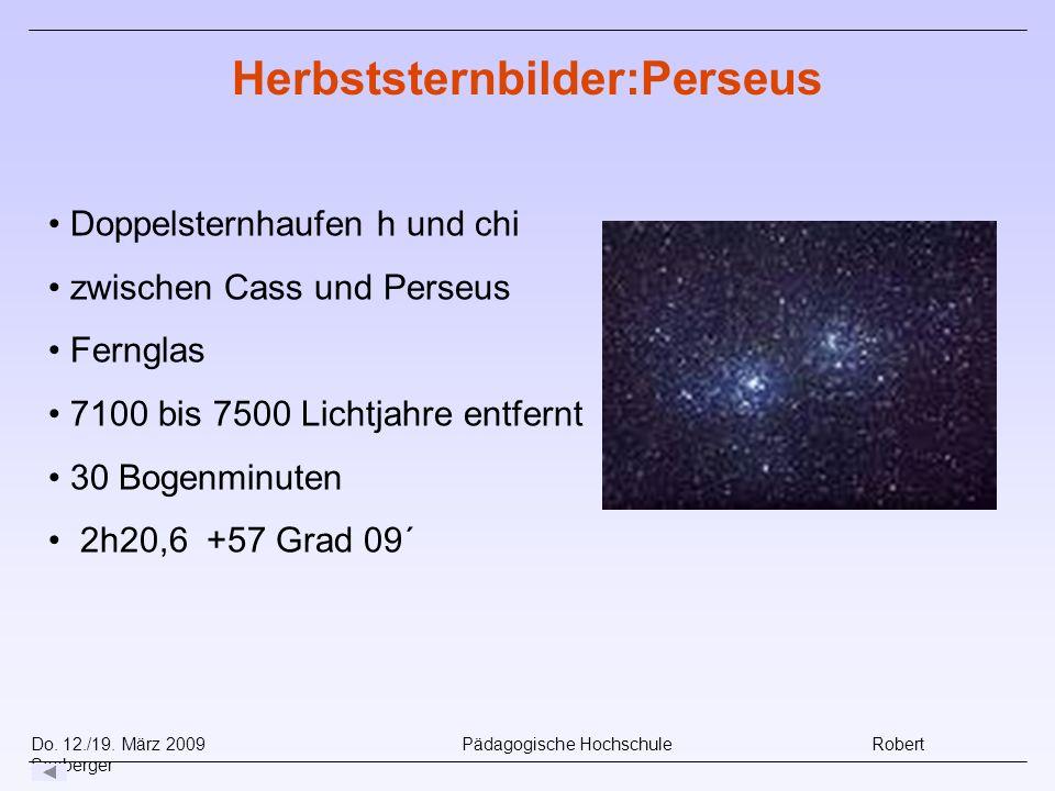 Herbststernbilder:Perseus