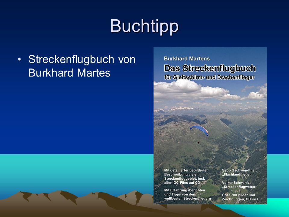 Buchtipp Streckenflugbuch von Burkhard Martes