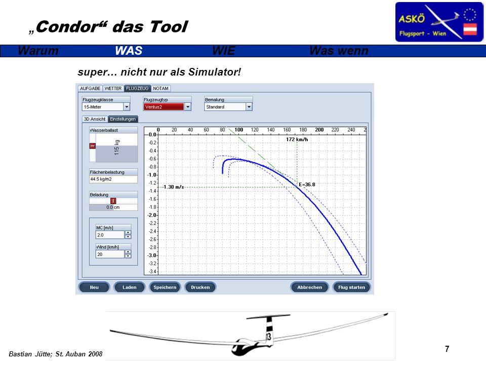 """""""Condor das Tool super… nicht nur als Simulator!"""