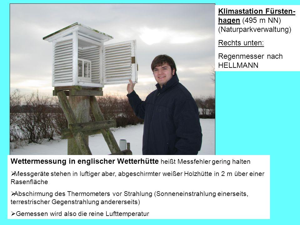 Klimastation Fürsten-hagen (495 m NN) (Naturparkverwaltung)