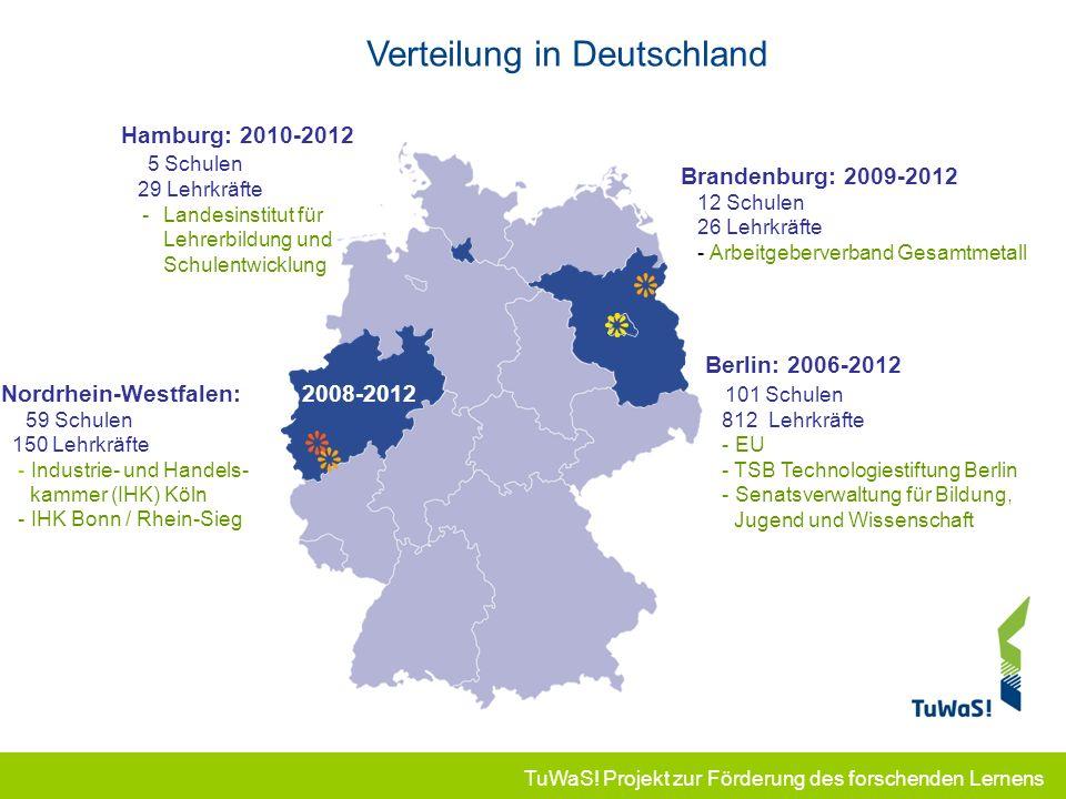 Verteilung in Deutschland