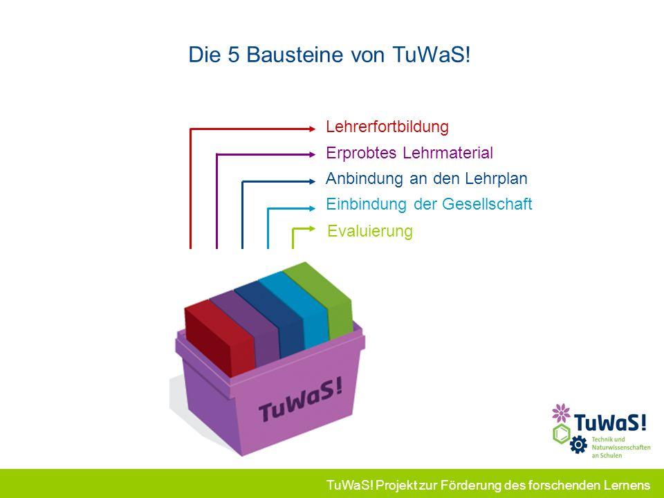Die 5 Bausteine von TuWaS!