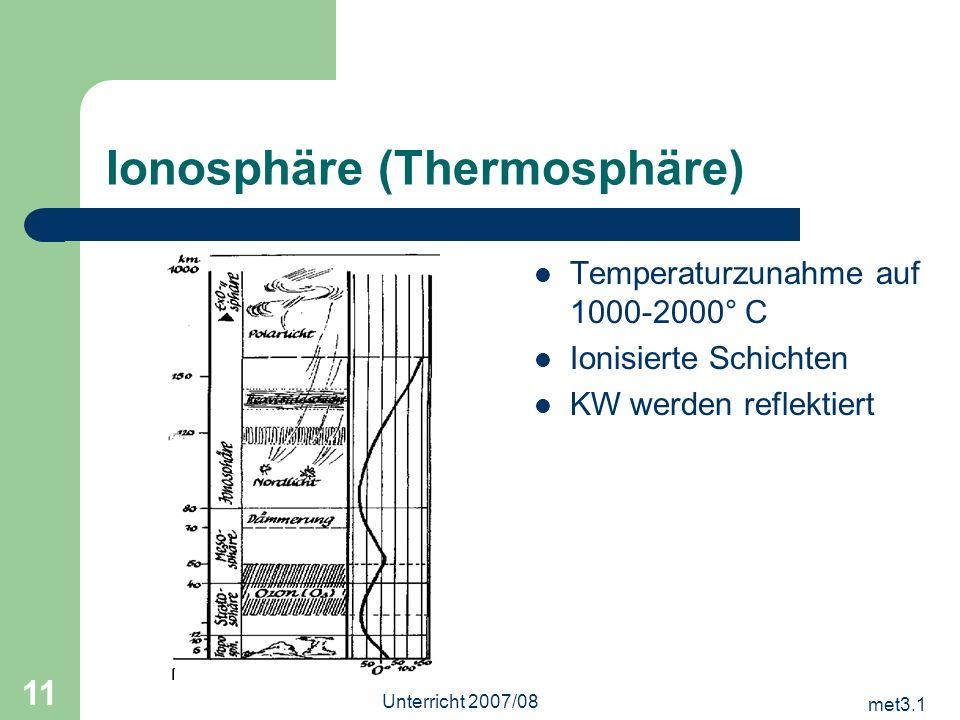 Ionosphäre (Thermosphäre)
