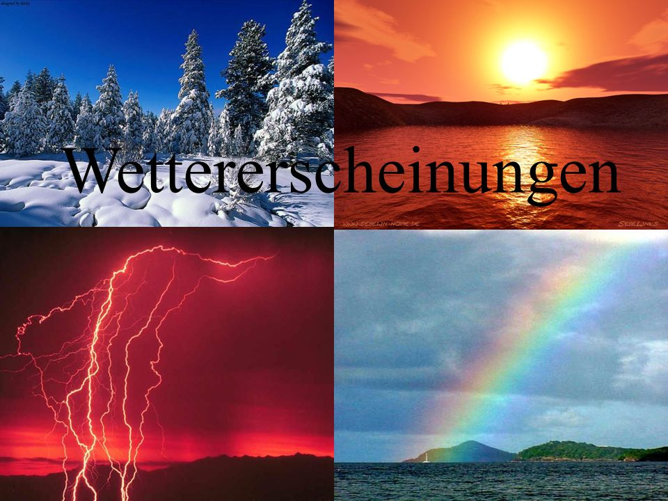 Wettererscheinungen