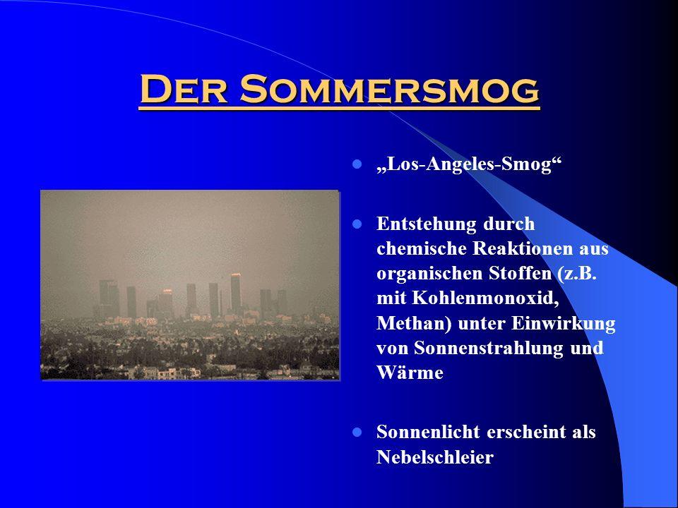 "Der Sommersmog ""Los-Angeles-Smog"